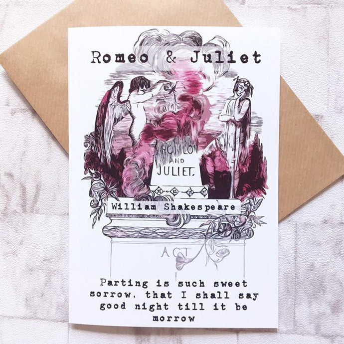 Shakespeare Greeting Card - Romeo And Juliet