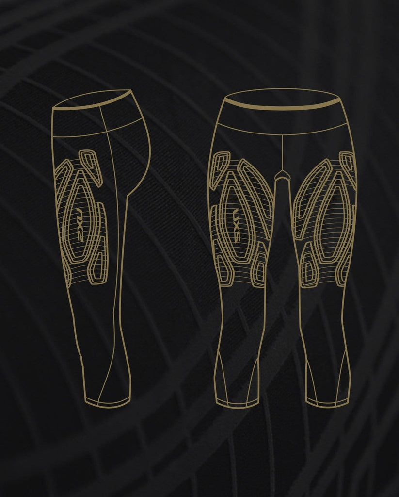 2XU MCS Bonded Mid-Rise Compression 3/4 Tight