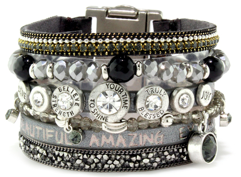 Queen-Come Together Cuff - ShopSpoiled