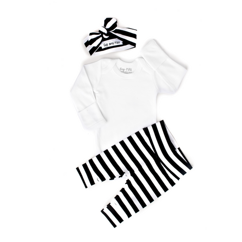 Wide Stripe - Long Sleeve - Gigi and Max