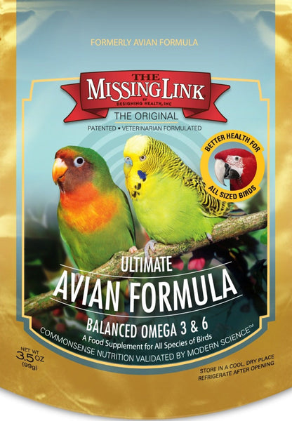 3-1/2-Ounce Ultimate Avian Formula - Feathered Friends of Santa Fe (www.ffofsf.com)
