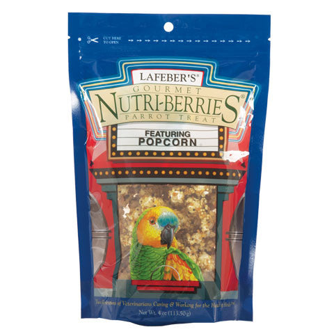 Popcorn Nutri-Berries Parrot Treat - Feathered Friends of Santa Fe (www.ffofsf.com)