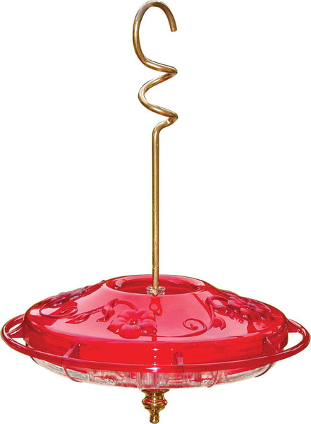 HummZinger Fancy 4-Port Hummingbird Feeder 12oz