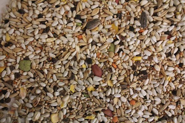 Small Hookbill Blend | Exotic Bird Seed - Feathered Friends of Santa Fe (www.ffofsf.com)
