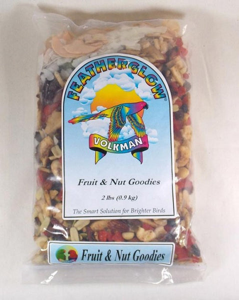Featherglow Fruit and Nut Goodies Treat Food 2 lb (0.9 kg) - Feathered Friends of Santa Fe (www.ffofsf.com)