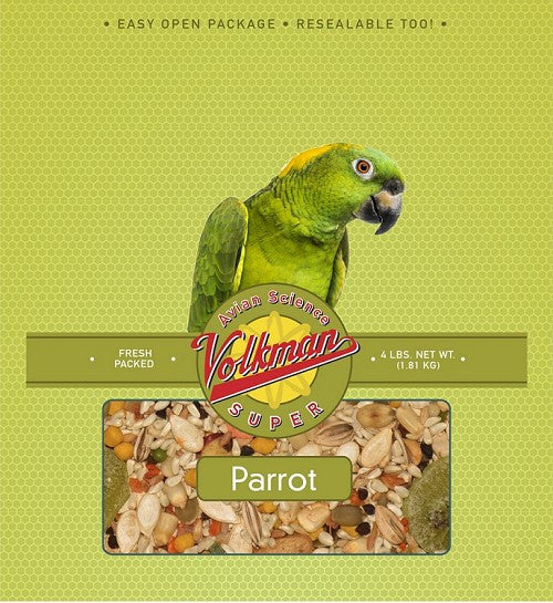Avian Science Super Parrot Diet 4 lb (1.81 kg) - Feathered Friends of Santa Fe (www.ffofsf.com)