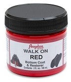 Angelus Walk on Red sole paint
