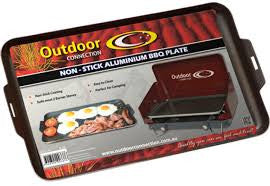 Outdoor Connection Non-Stick Aluminium BBQ Plate - Action Camping & Outdoors