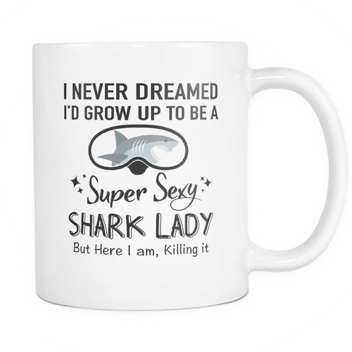 Mug super sexy shark lady SCD2004