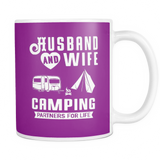 Mugs 11oz Camping partners for life CAMP2063