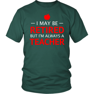 Shirt Retired Teacher TEA1003
