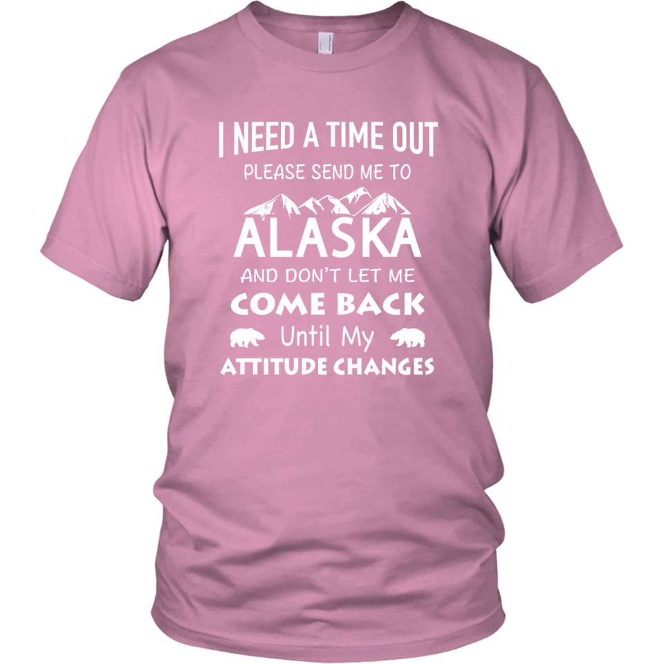 SHIRT - SEND ME TO ALASKA ALA1006