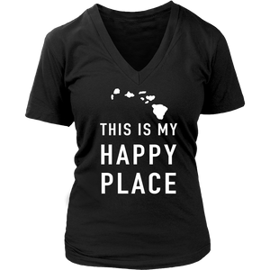 SHIRT - THIS IS MY HAPPY PLACE HAW1020