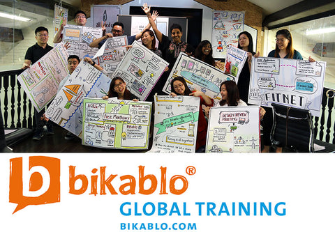 Visual Facilitation Training - 2 Day bikablo basics training in Singapore (26 & 27 Sept  2019) - No drawing skills required