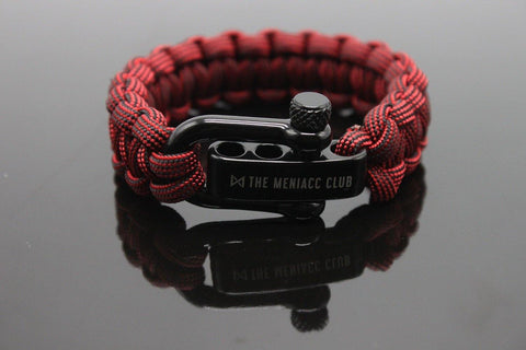 The Meniacc Survivalist Rugged Bracelet - Imperial