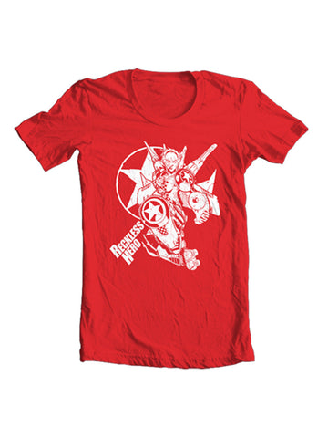 Rocket Skates T-Shirt Red (Mens)