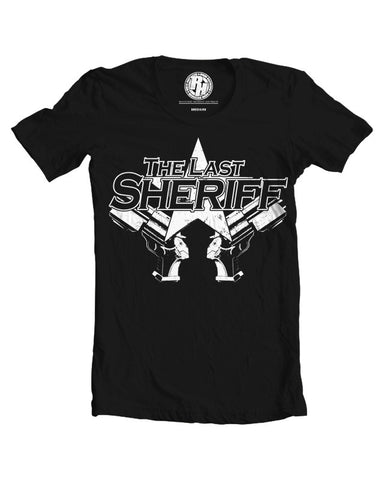 The Last Sheriff Logo T-Shirt