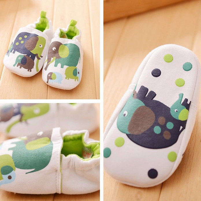 Soft Lovely Baby Cotton Slippers