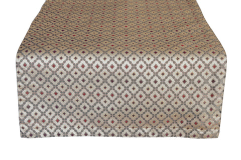 Cascading Rubies Table Runner