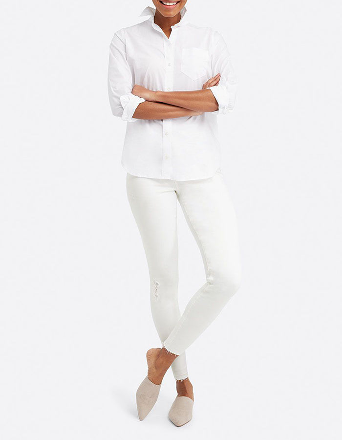 Spanx Jean-ish Leggings in Distressed White