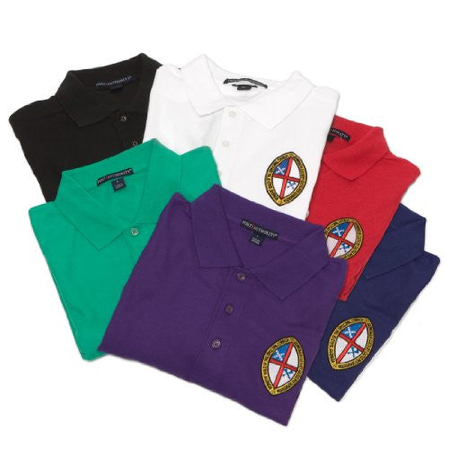 Liturgically colored golf shirts:  set of 6