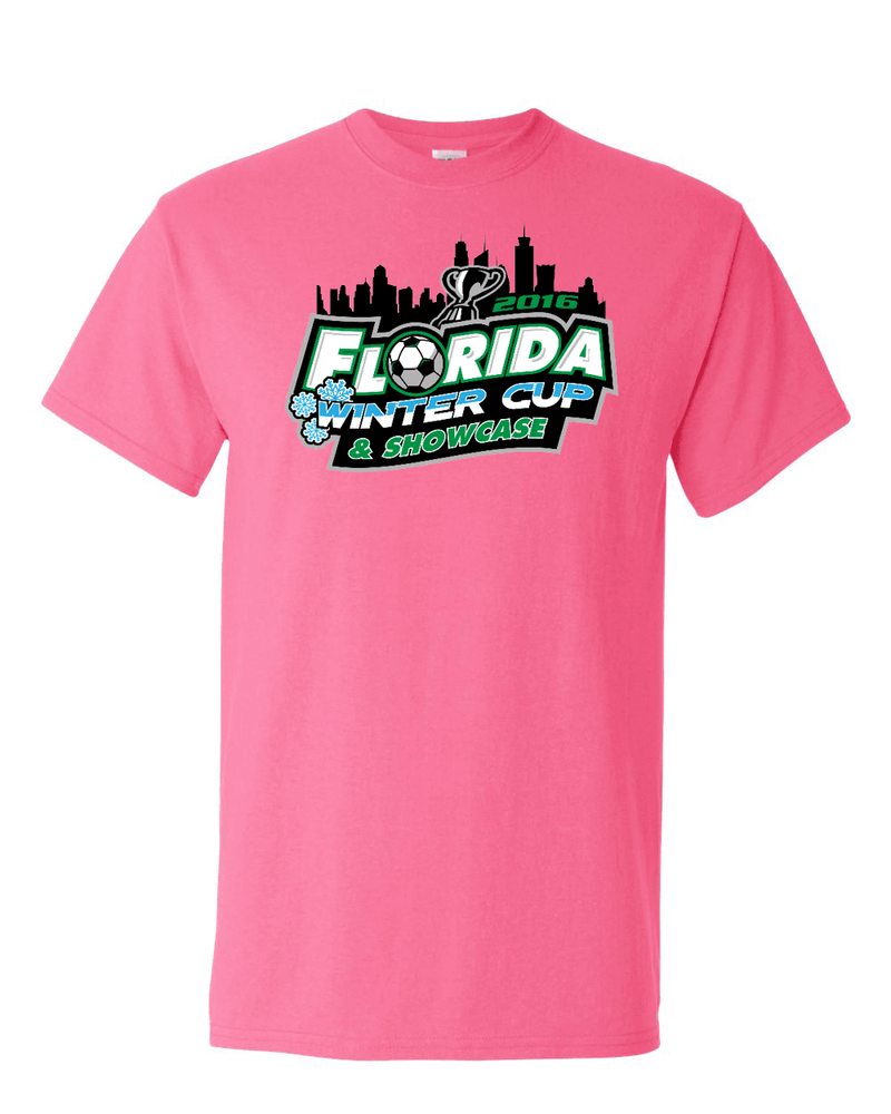 Neon Pink Florida Winter Cup