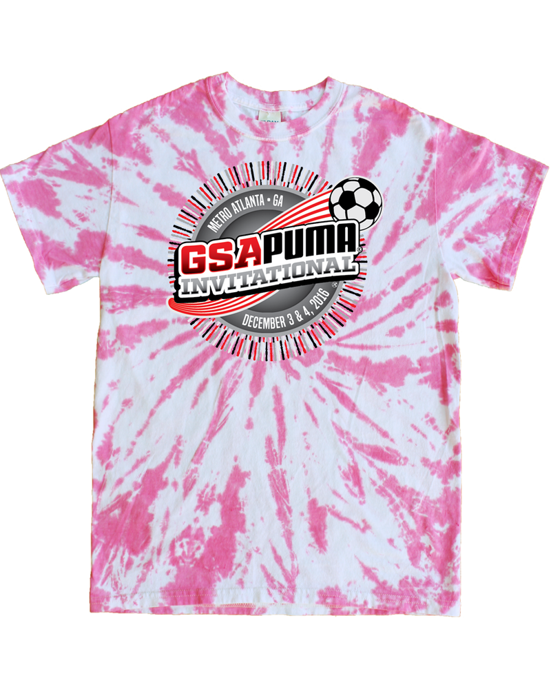 Pink Tie-Dye T-Shirt GSA Invitational