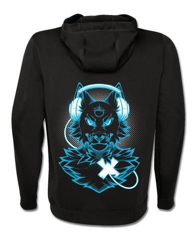 nomad complex blue wolf hoodie black hoodie vancouver ltyh lty<3 listen to your heart