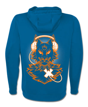nomad complex orange wolf hoodie blue hoodie vancouver ltyh lty<3 listen to your heart