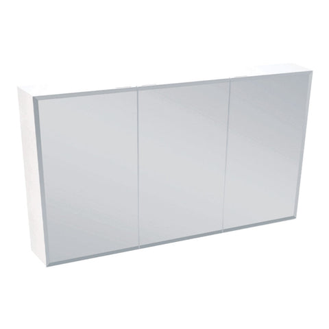 1200mm BEVELED EDGE Pencil Edge Mirrored Shaving Cabinet, Soft Close