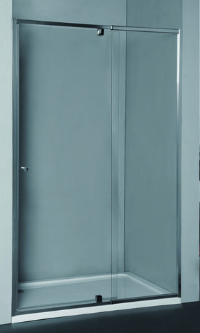 Wall-to-Wall Door & Frame Adjustable 1075-1200 x 1950H mm