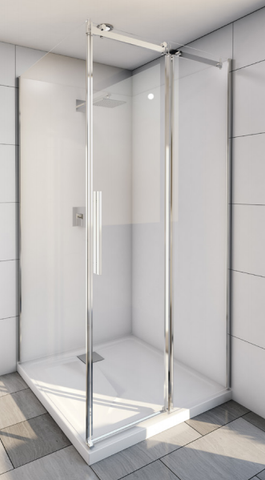 Avalon Shower System Screen, Base & Wall 1200 x 900 x 2000H mm