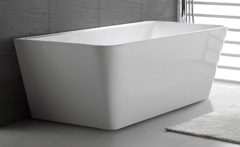ARIA 1500 Back-to-Wall Slimline Freestanding Bath