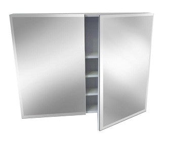 750mm BEVELLED EDGE Mirror Shaving Cabinet, Soft Close