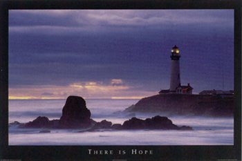 There is Hope (24x36) - ISP36107