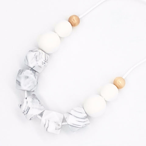 Marble 'Basics' Necklace