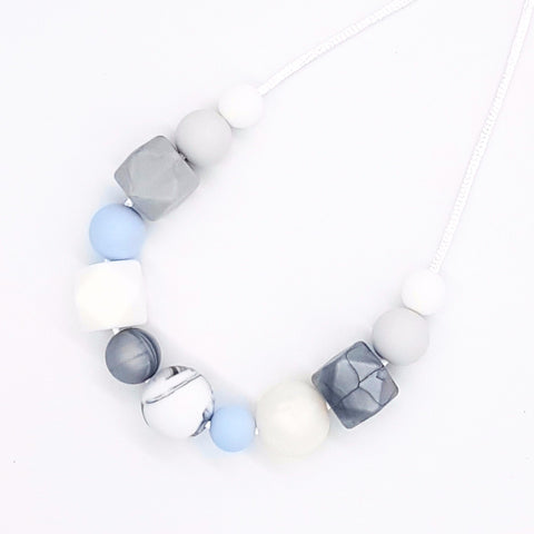 Baby Blue 'Serenity' Necklace