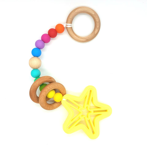 Lemon & Rainbow Shooting Star Play Gym Toy