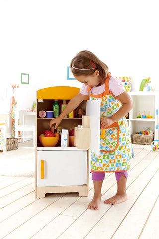 Toy Kitchen Fridge - With Working Ice Dispenser