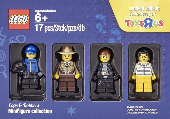 LEGO Cops and Robbers Minifigures Collection 5004574 Toys R Us Exclusive