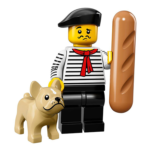 Connoisseur – Series 17 Lego Minifigure
