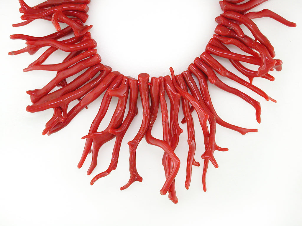ITALIAN BRANCH CORAL NECKLACE