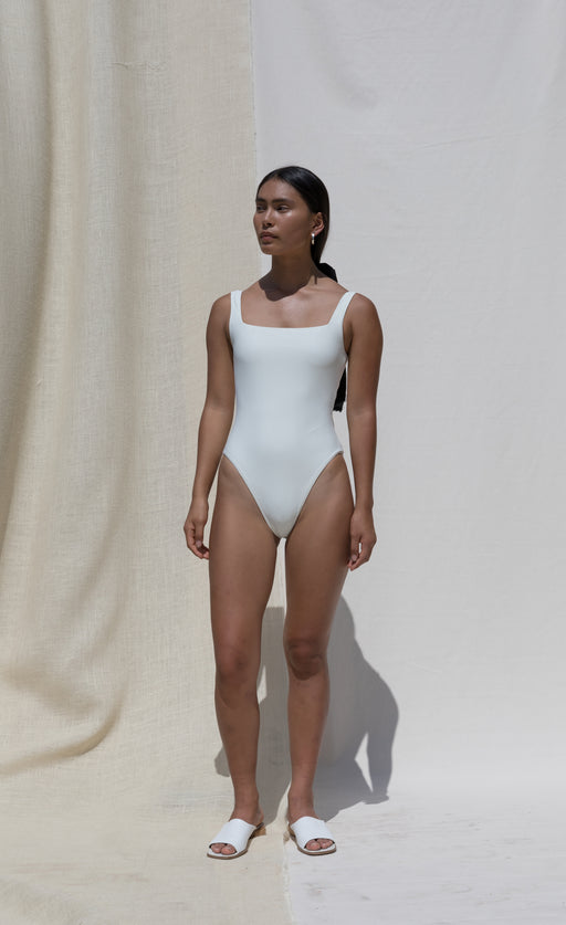 Sylph Swimsuit - Milk