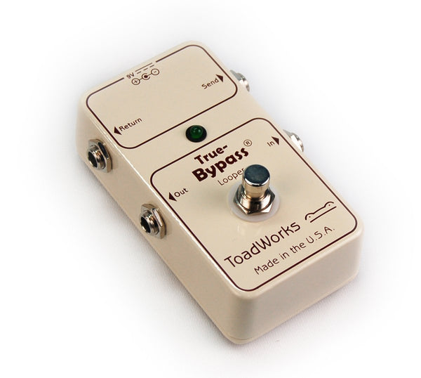 ToadWorks True-Bypass Looper Effect Pedal