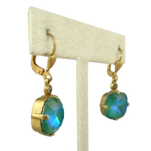 La Vie Parisienne Earrings Swarovski Crystal Popesco 6556G Mermaid - ILoveThatGift