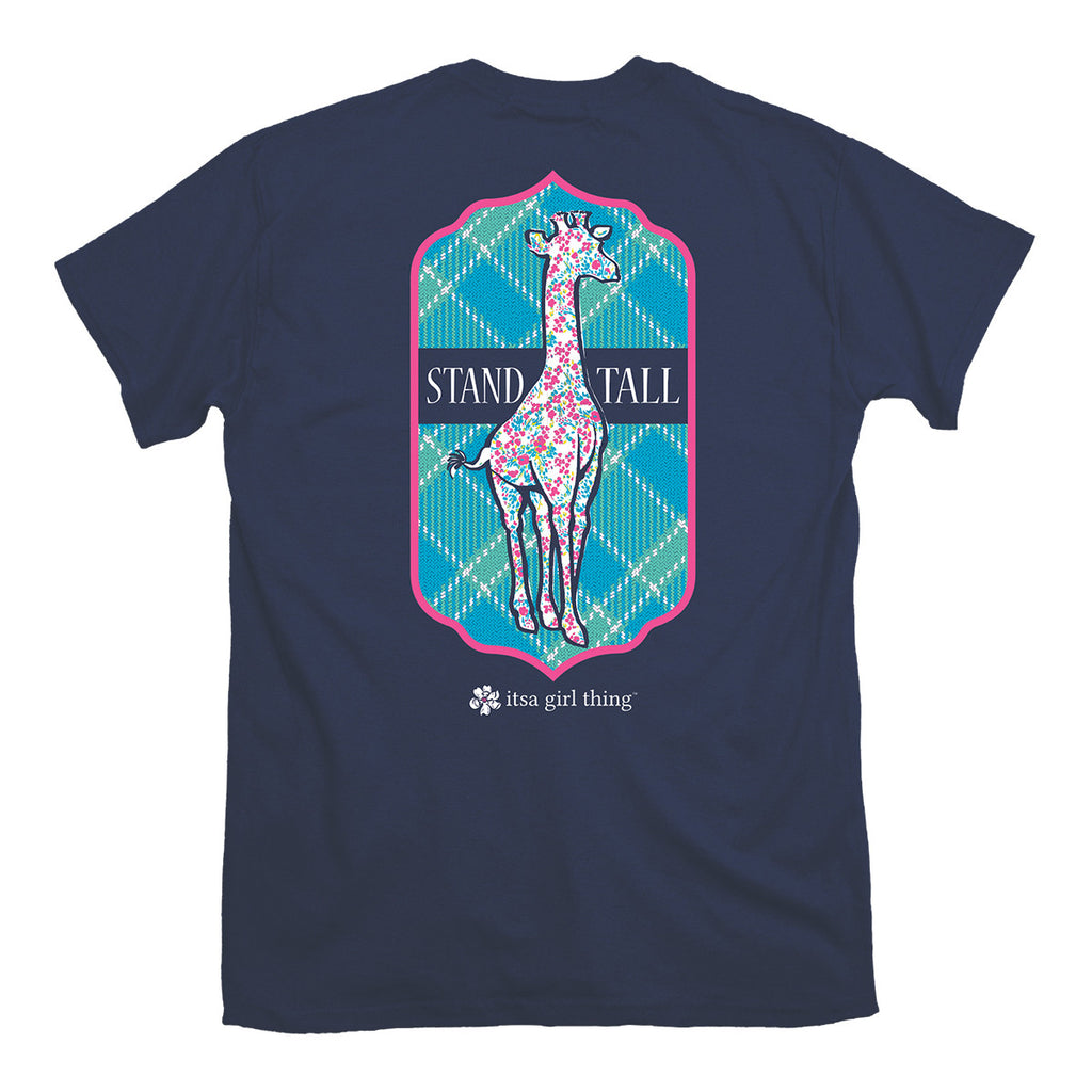 Stand Tall Shirt - Navy - Youth