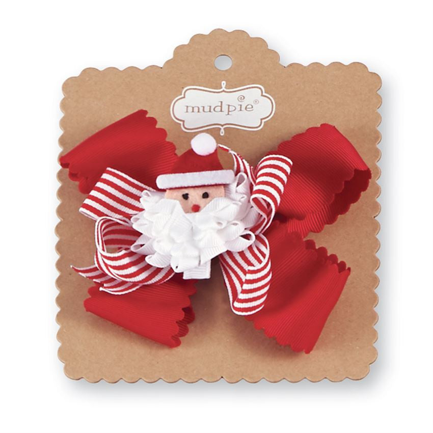 Holiday Bows - Santa