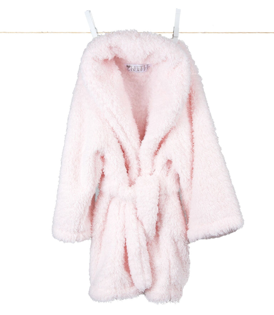 Stretch Chenille Kids Cover Up - Pink