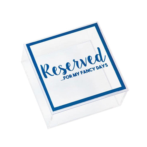 Keepsake Box - Reserved