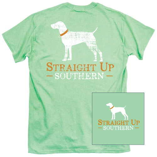 Shirt Boys - Straight Up Southern Shirt - Mint - Youth